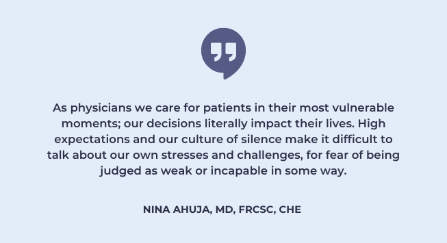 physician burnout and the culture of silence