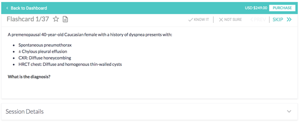 image of one of the IM flashcards from the free trial