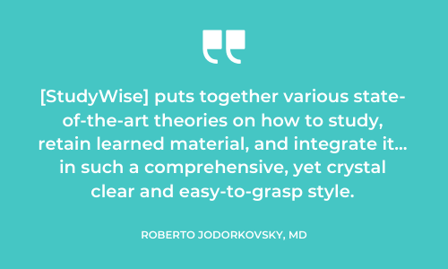 StudyWise review from reader