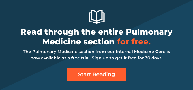 internal medicine medstudy core free trial pulmonary medicine