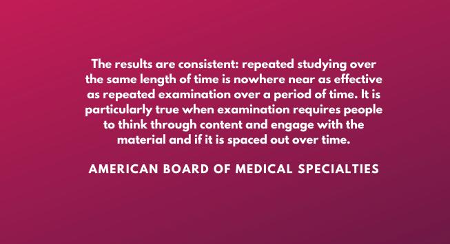 longitudinal exam American Board of Medical Specialties