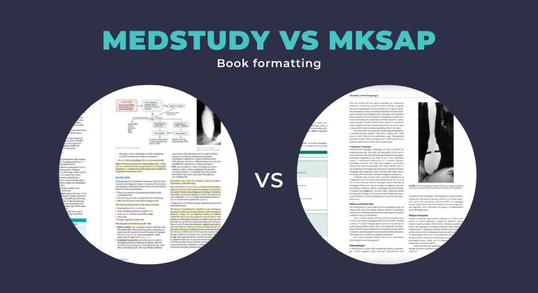 medstudy vs mksap formatting